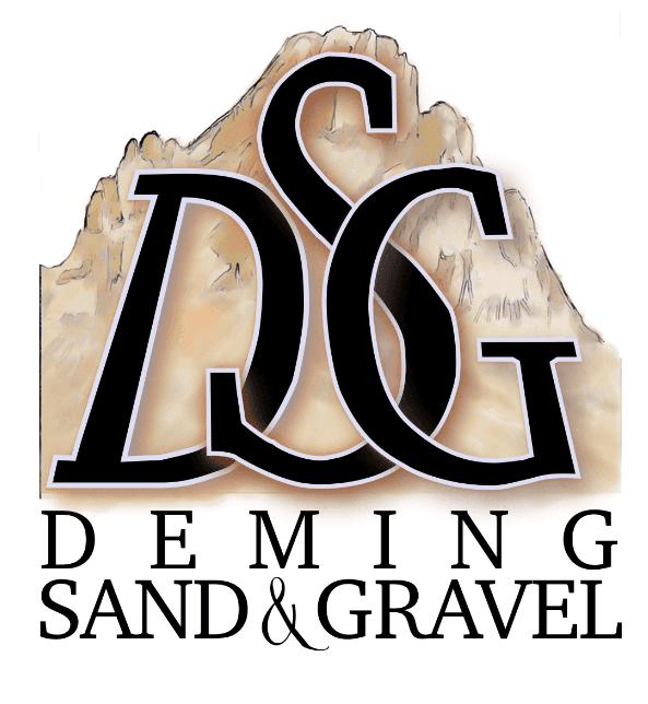 戴明沙和砾石徽标