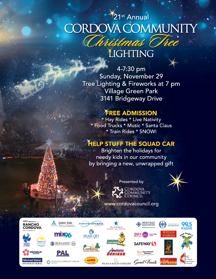 Rancho Cordova Christmas Tree Lighting 2020 Rancho Cordova Christmas Tree Lightin