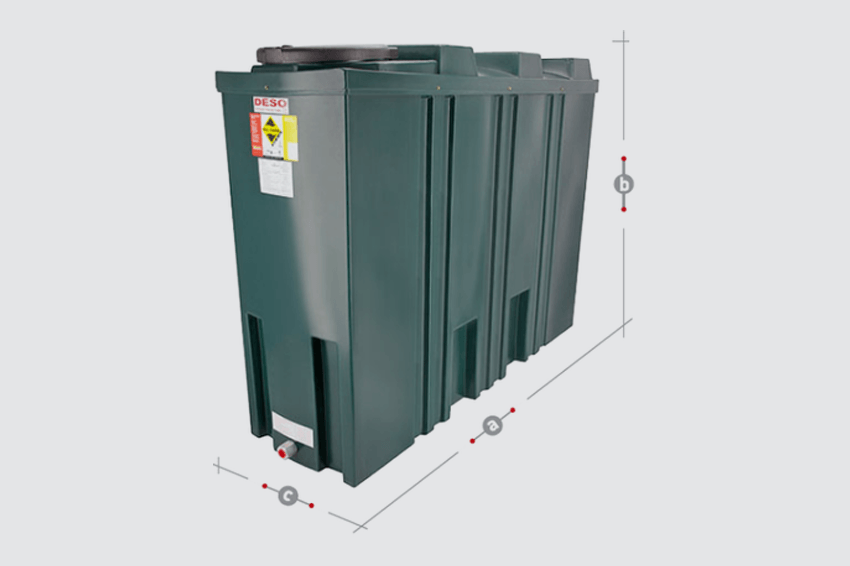 Domestic oil tanks and commercial oil tanks