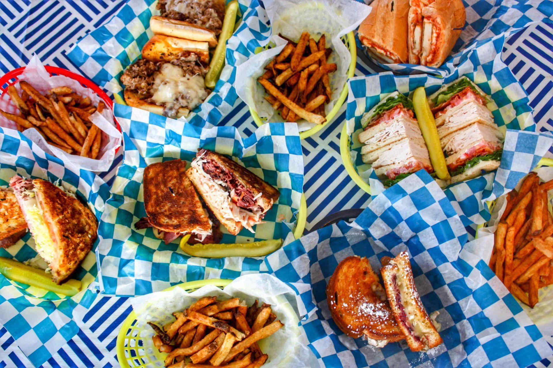 New York Corner Deli Sandwiches