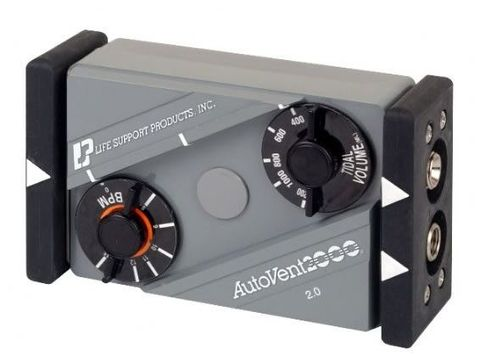 LSP AutoVent 2000交通运输呼吸机从微萨斯奎汉纳manbetx客户端2.06.83m