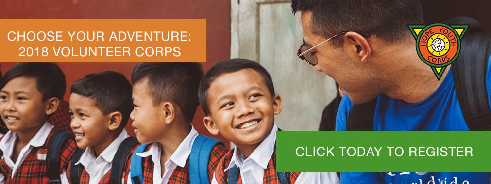 HOPE Youth Corps | HOPE worldwide