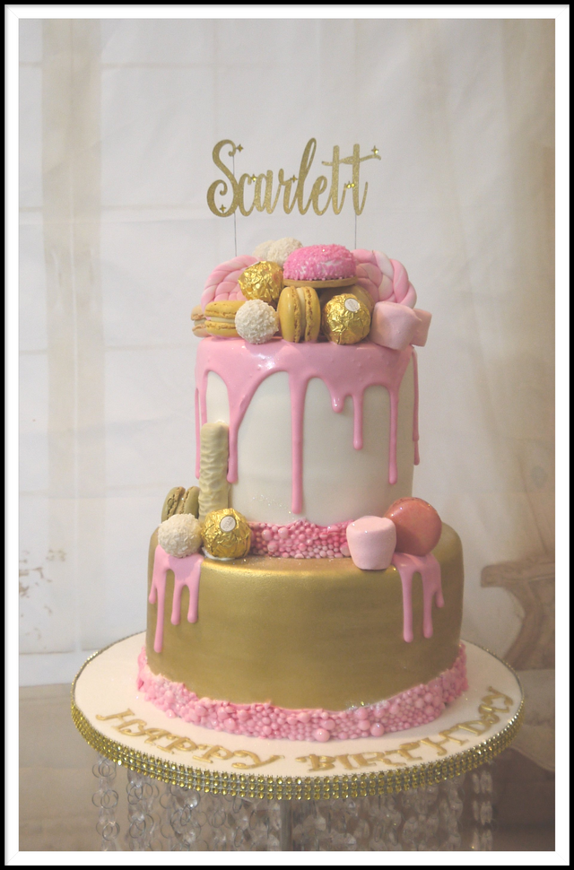 Admirable Cakes For Women Personalised Birthday Cards Veneteletsinfo