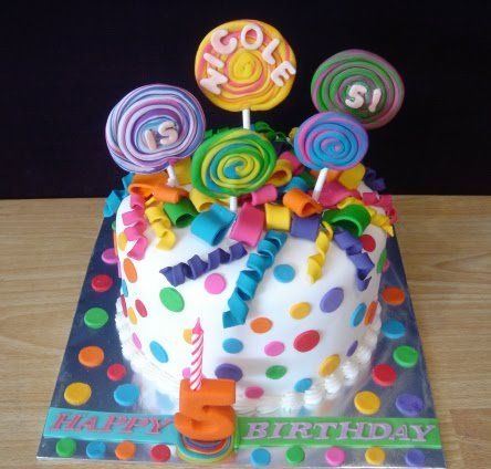 Superb Childrens Party Cakes Personalised Birthday Cards Cominlily Jamesorg