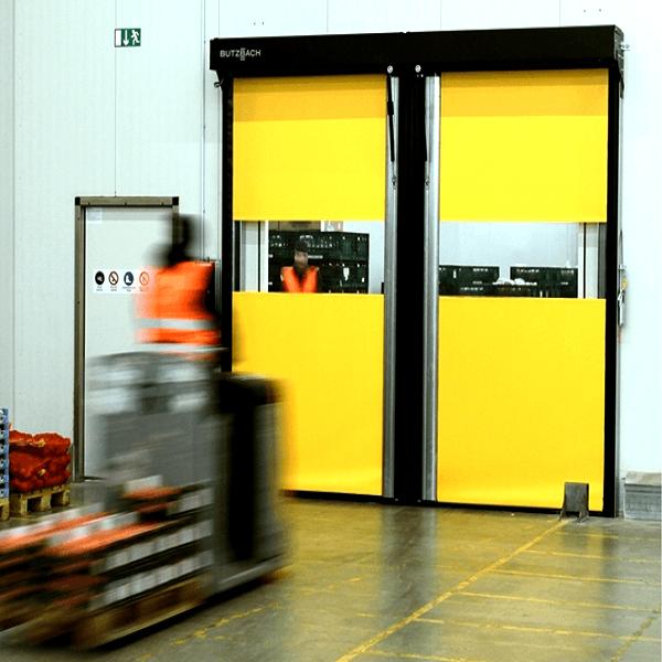 Horizontal High Speed Doors Fast Acting Doors Dortek
