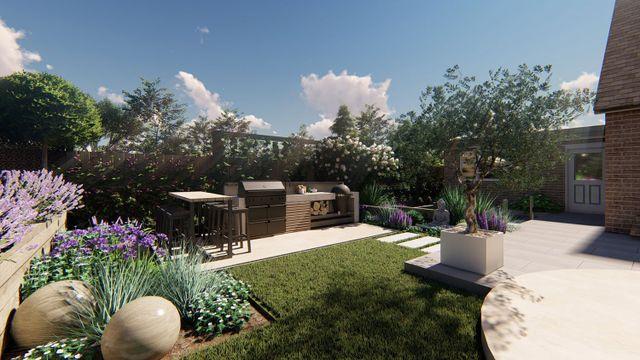 Luxury Garden Landscape Design