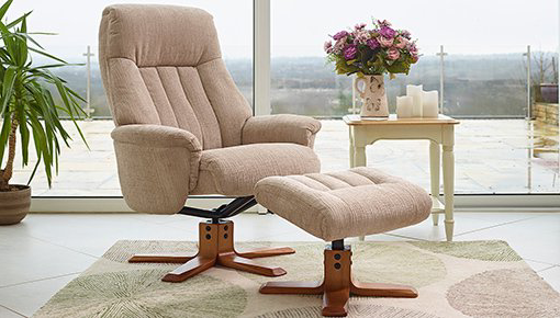 Barnes & Fadden | Chairs | Fabric Swivel Chair collection