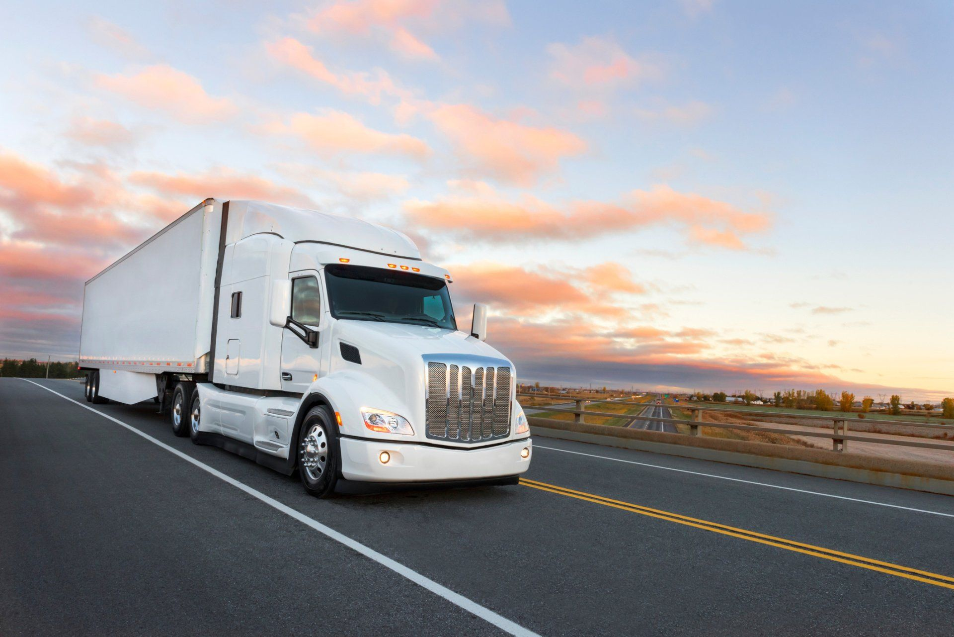 Crate Forwarding — Delivery Truck in W. Palm Beach, FL