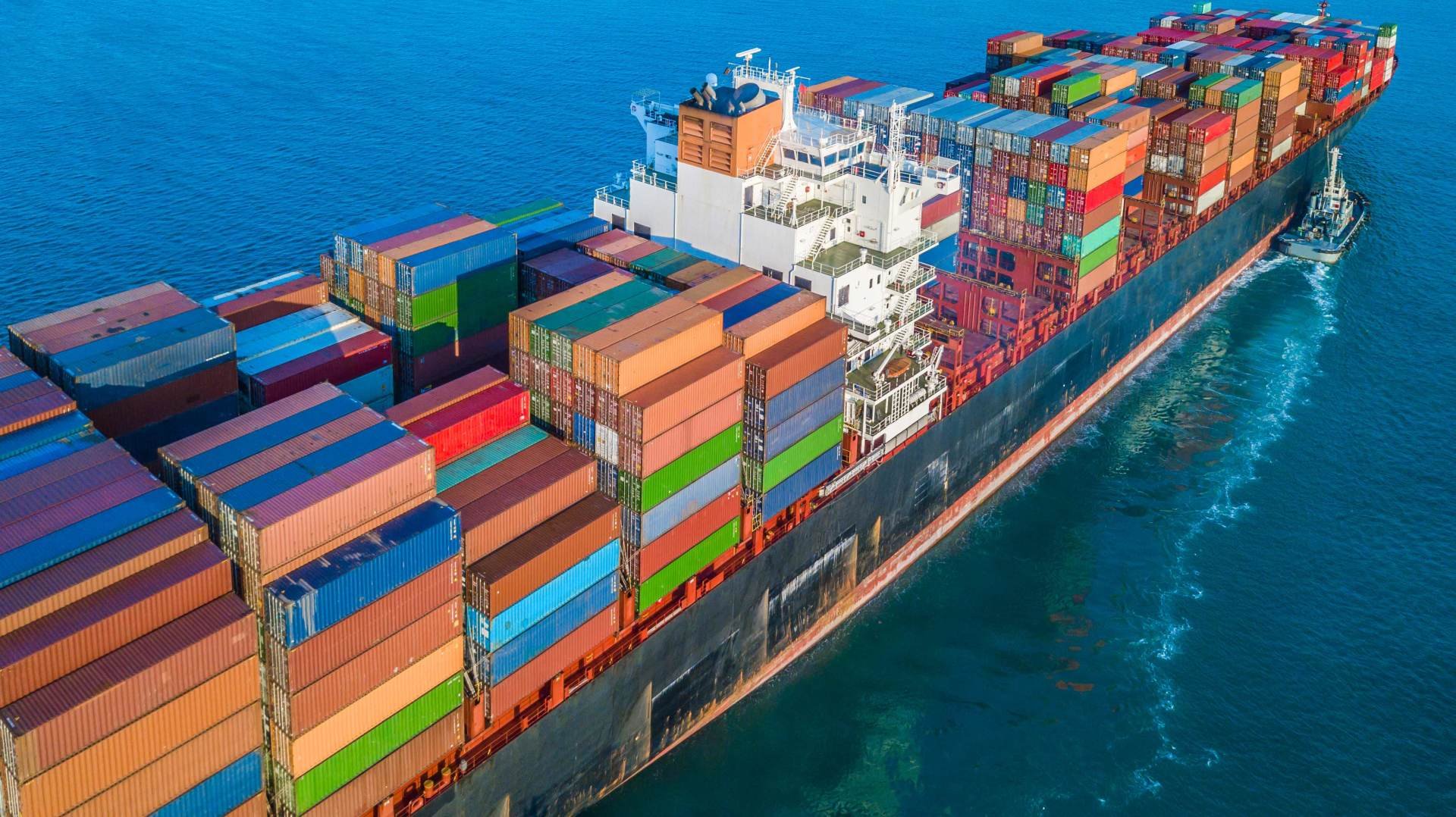 Export — Ship and Different Containers in W. Palm Beach, FL