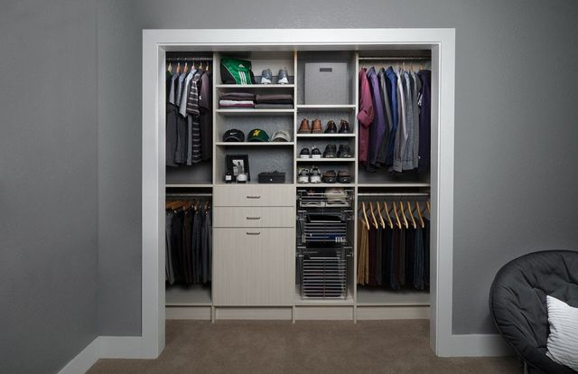 Affordable Reach In Closets Design And Installation