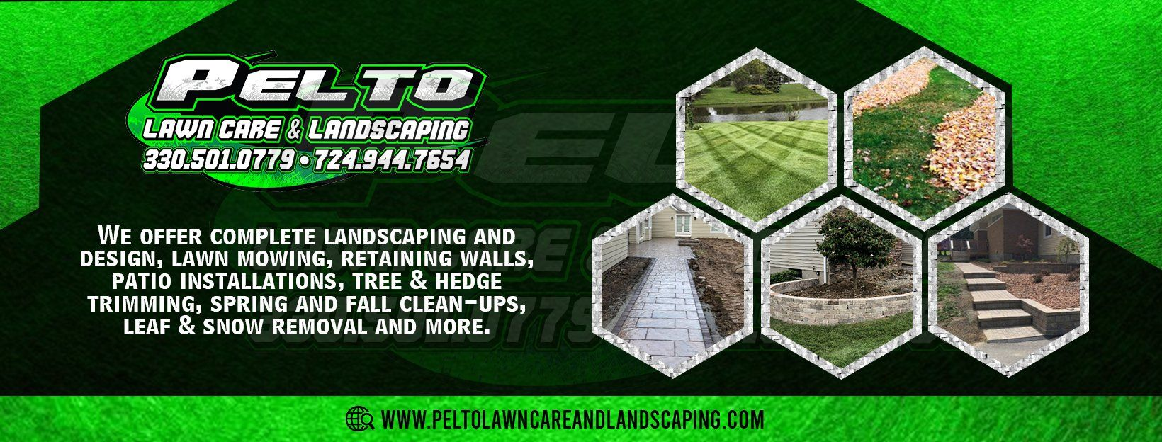Professional Landscaper Edinburg Pa Pelto Lawn Care And Landscaping