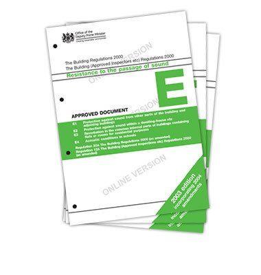 Floor Sound Insulation For Building Regulations Part E