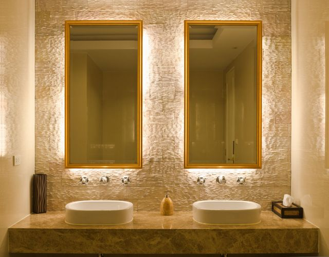 Lighted Bathroom Mirrors Are They Worth The Cost