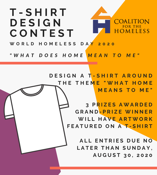 We Need Your Creativity For Our First Annual T Shirt Design Contest