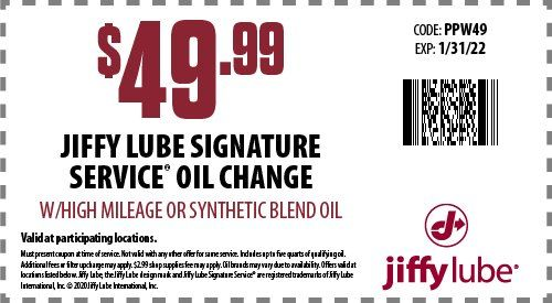 Jiffy Oil Change Price