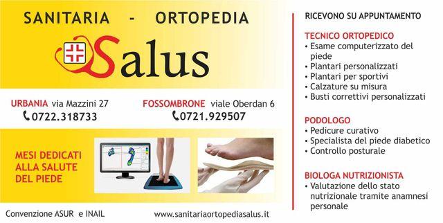 Articoli Medico Sanitari Urbania Pu Sanitaria Ortopedia Salus