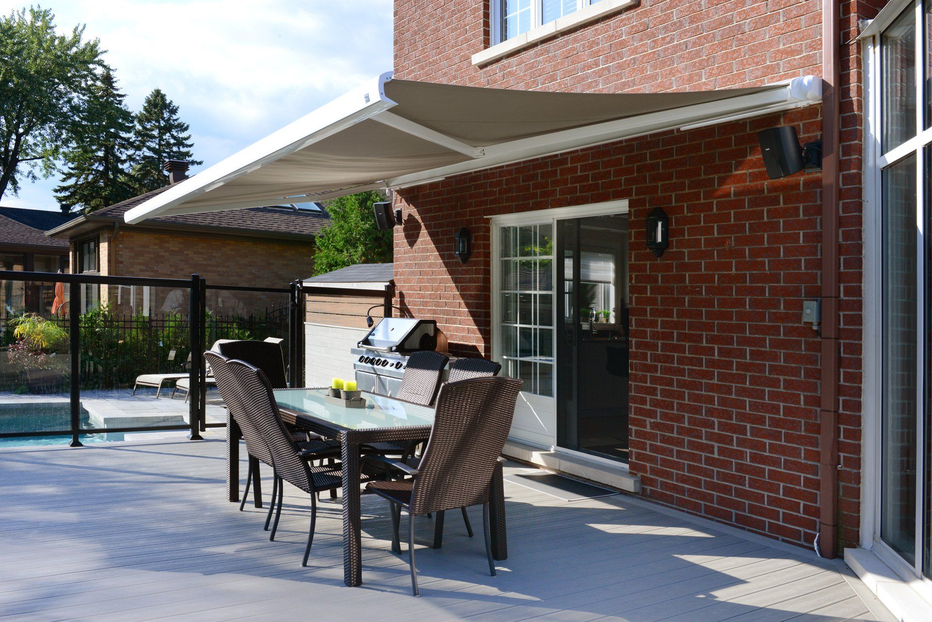 Cover Tech Retractable Awnings Patio Awnings Rolltec