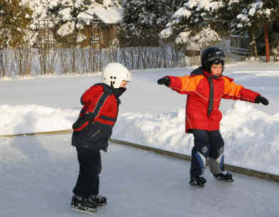 COVER-TECH   Skating Rink Liners   Backyard Ice Rinks