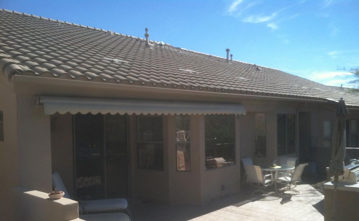 Retractable Outdoor Awnings | Sun Away Outdoor Shades | AZ