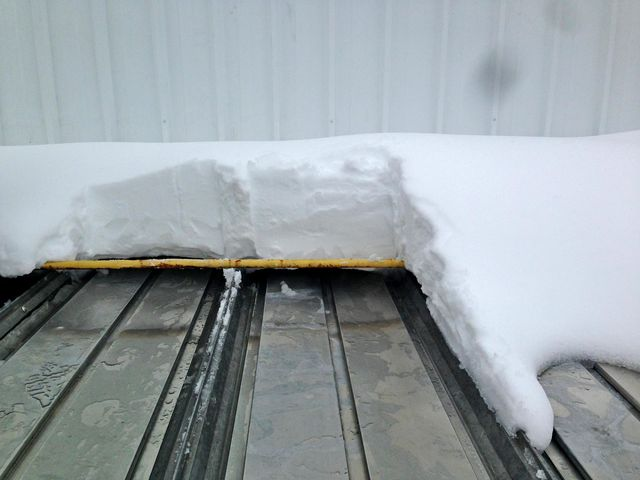 Hydronic Roof Melt System Roof Deicing Systems Engineered Roof Deicing