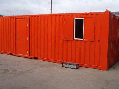 Steel anti-vandal open plan office