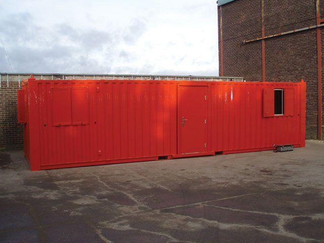 40'x10' Anti-vandal office unit