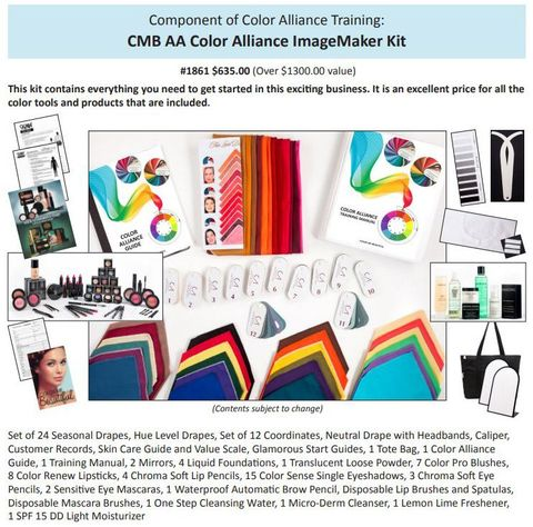 color and image training  manassas va  beauty for all