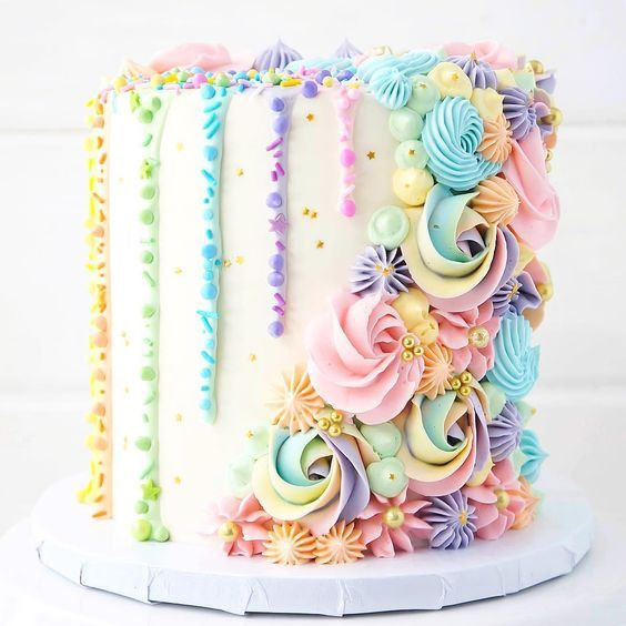 Image result for girl birthday cake