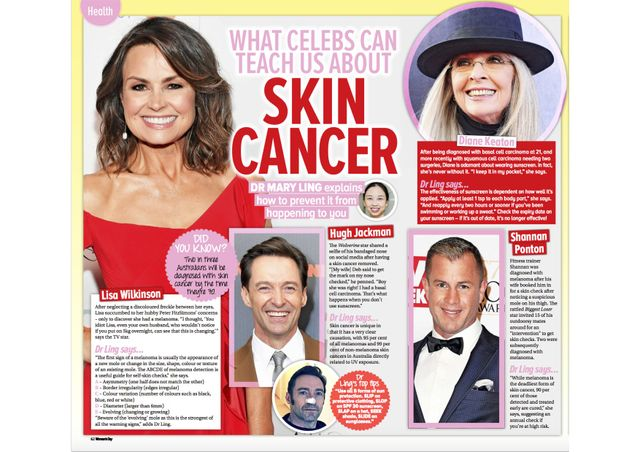 What Celebs Can Teach Us About Skin Cancer