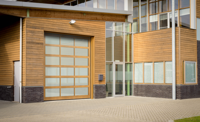 New Haas Door Commercial Aluminum Garage Door Series