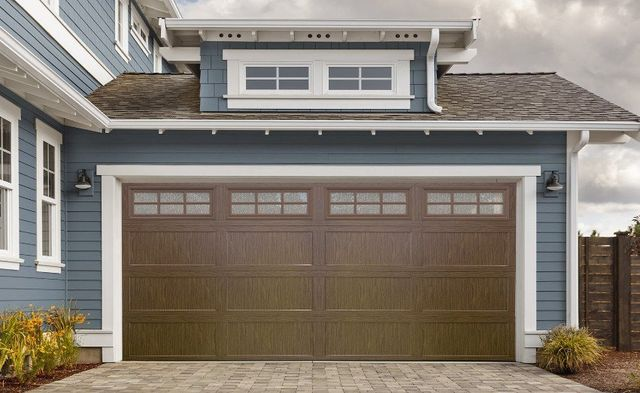 Stand Out Specialty Gl Enhances Garage Doors