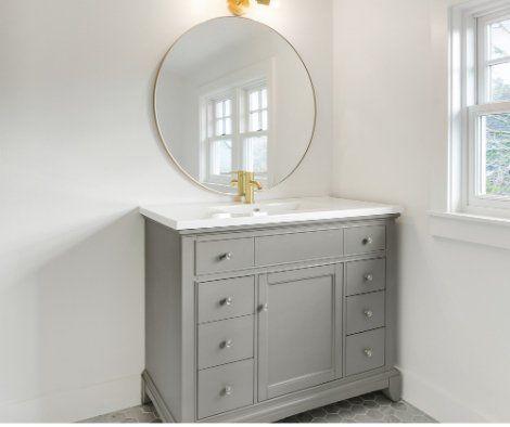 Bathroom Vanity Installation In Manchester Nh