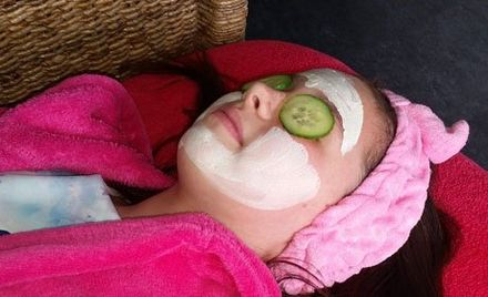 pampering facial for the party