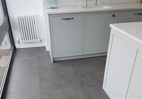 Cushion floor sheet vinyl