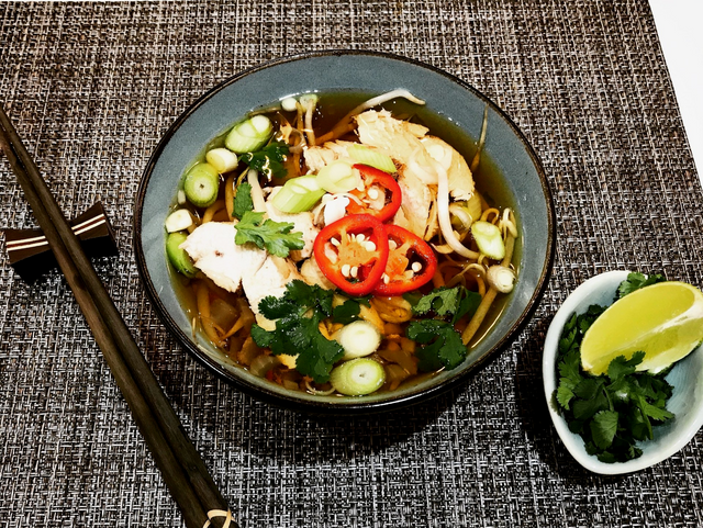 Slow Cooker Chicken Pho 0sp