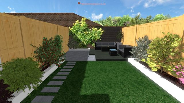 Gardens Before And After Landscaping