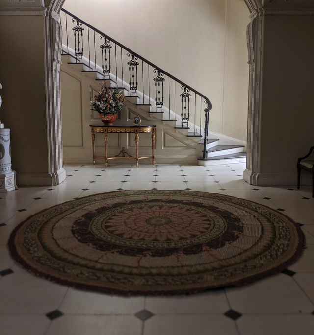 decorative wood railing sytem for indoor stairsfloor.htm preventing wear and tear from damaging your heirloom oriental rug  damaging your heirloom oriental rug