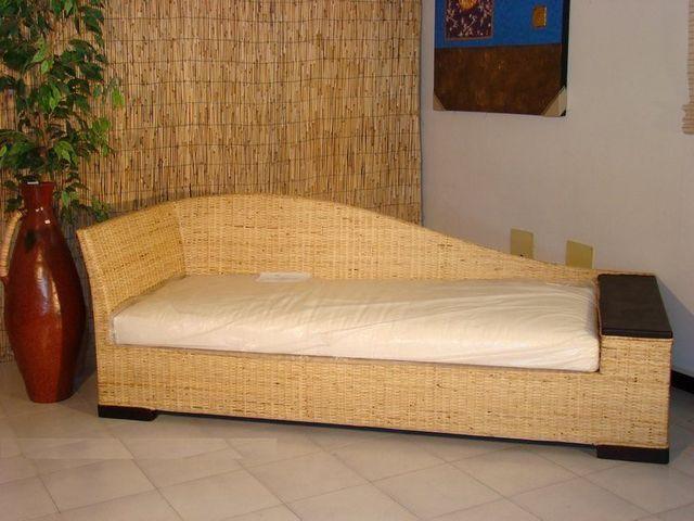 Divani In Rattan Da Interno.Arredamento In Rattan Midollino Vimini Naturale In Bambu Naturale