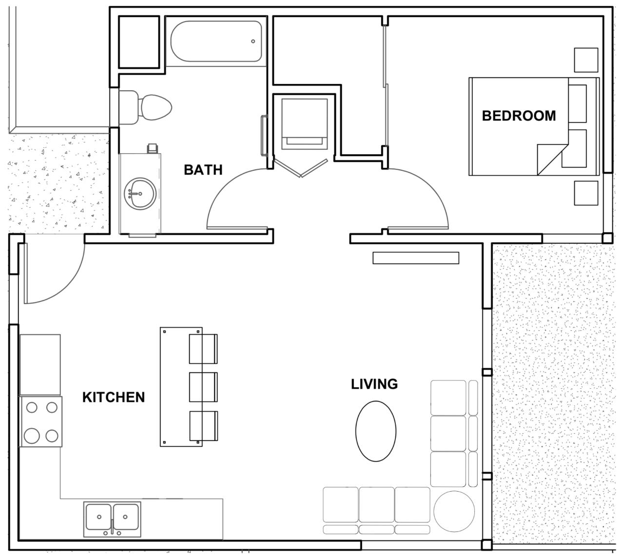 San Diego Luxury Apartment