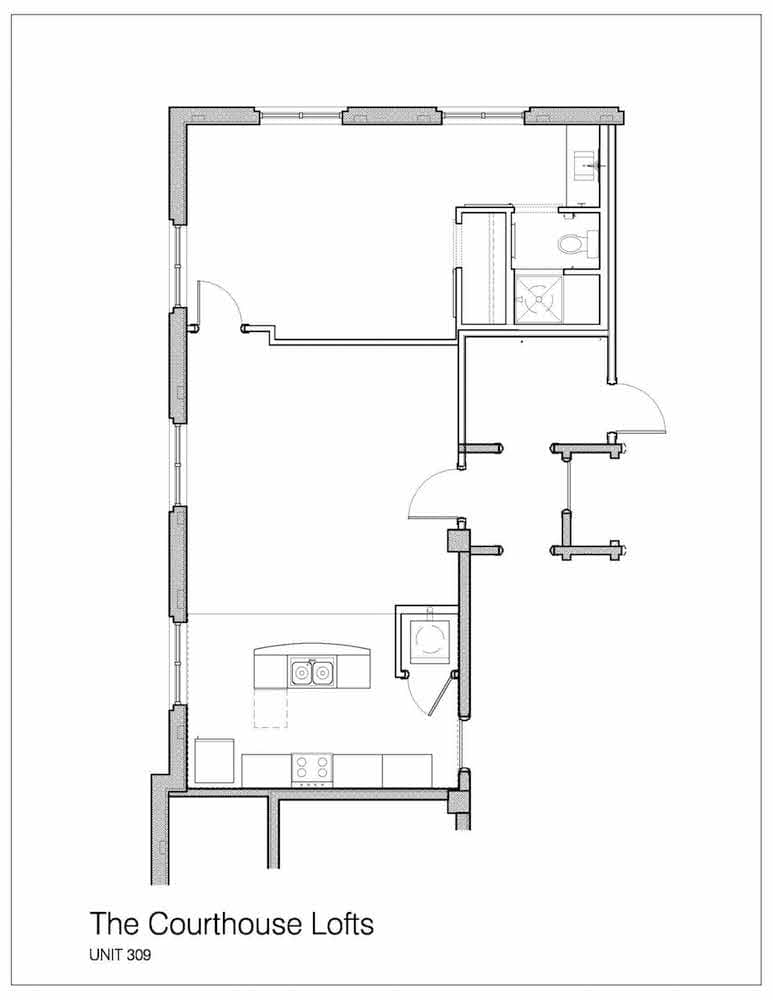 The Courthouse Lofts Floor Plans