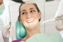 woman receiving emergency dental care in Pendle Hill