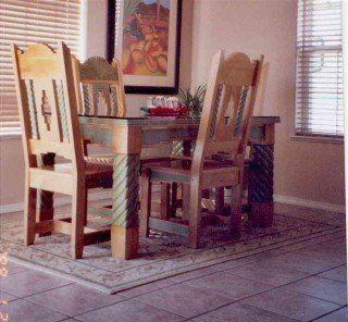 Custom Dining Room Custom Chairs Custom Tables Custom Furniture Store Hardwood Solid Wood Santa Fe Design Albuquerque Nm