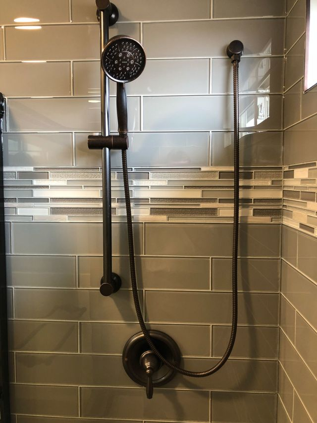 Height To Use For A Shower Tile Border
