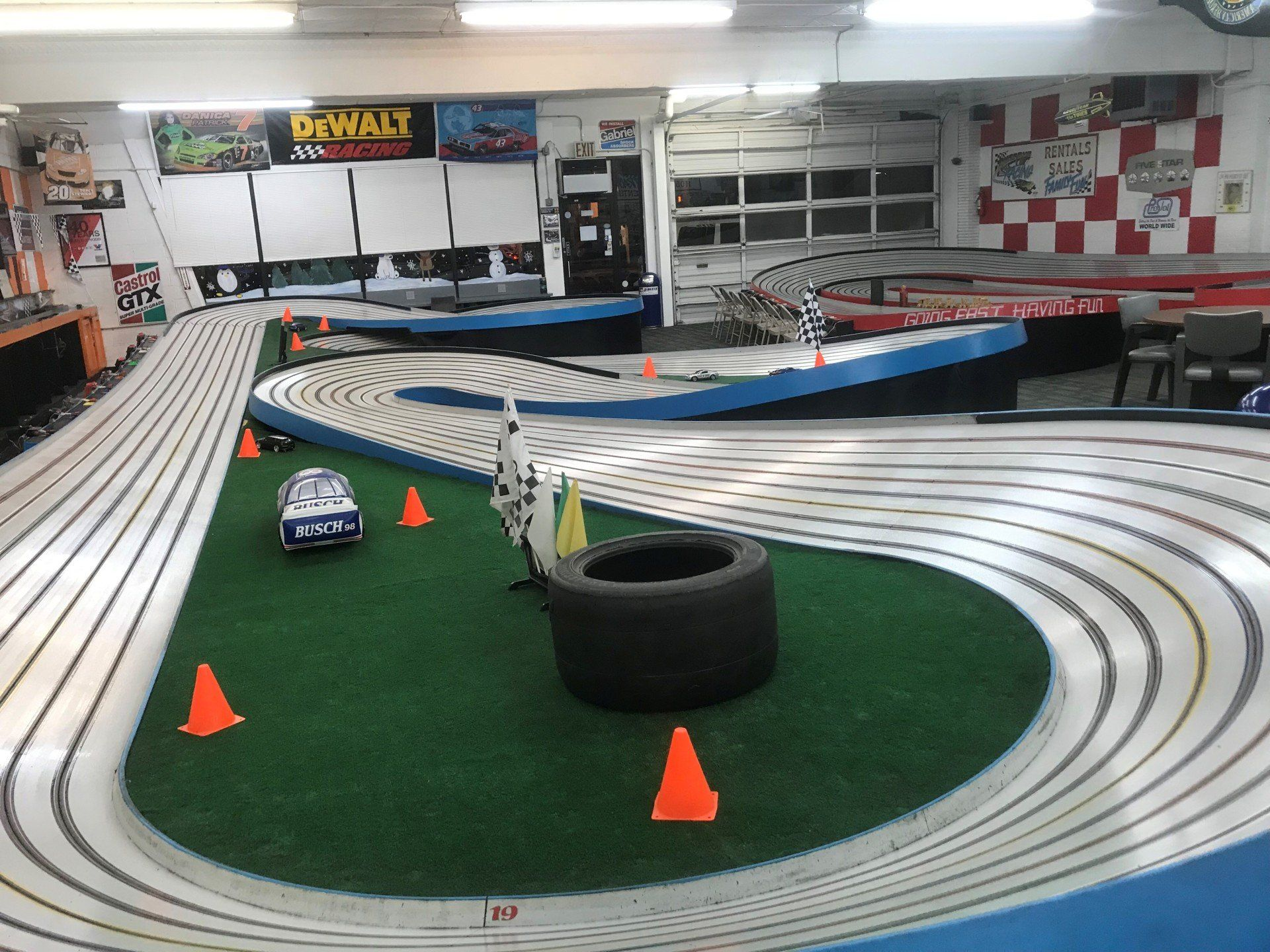 Slot Car Racing & Drag Strip Racing in Franklin Square! Slots-A-Lot Raceway is Nassau County's oldest and largest racing venue.Our racing facility opened in and features three + foot tracks.