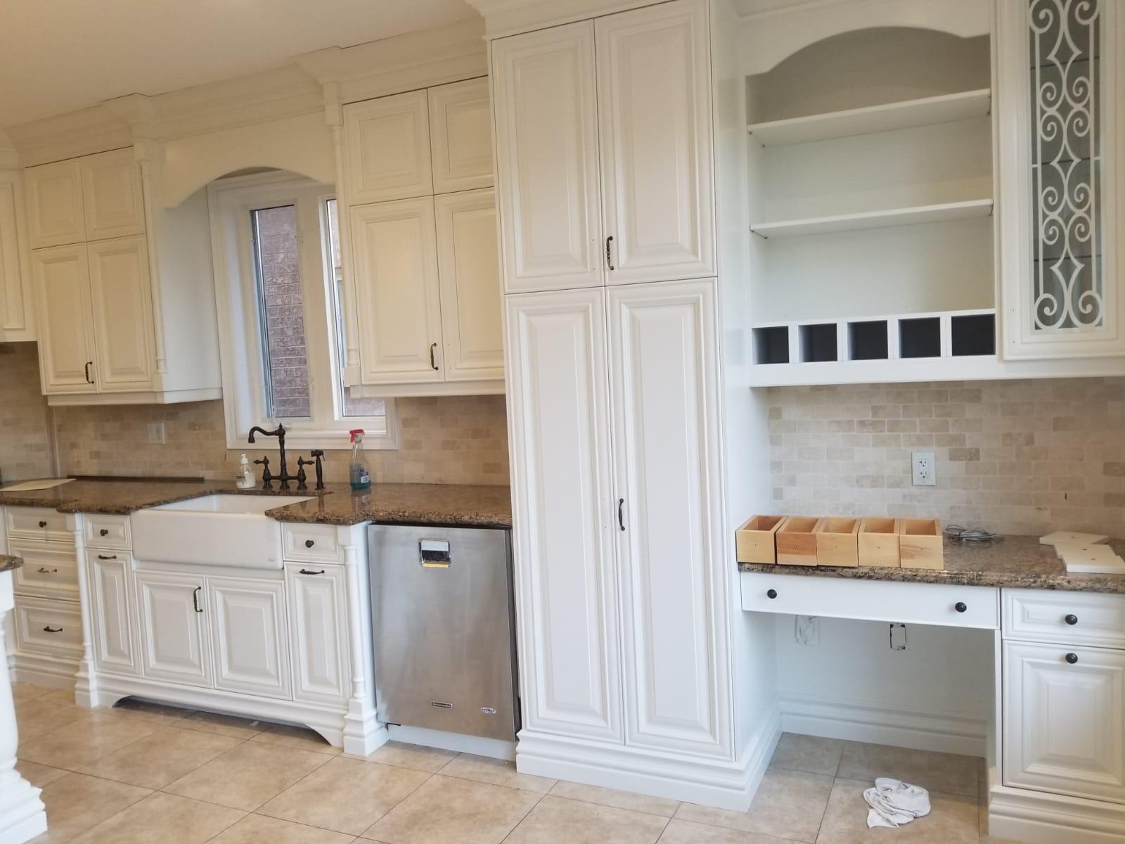 Kitchen Cabinet Refinishing Painting Toronto Cabinet Paints