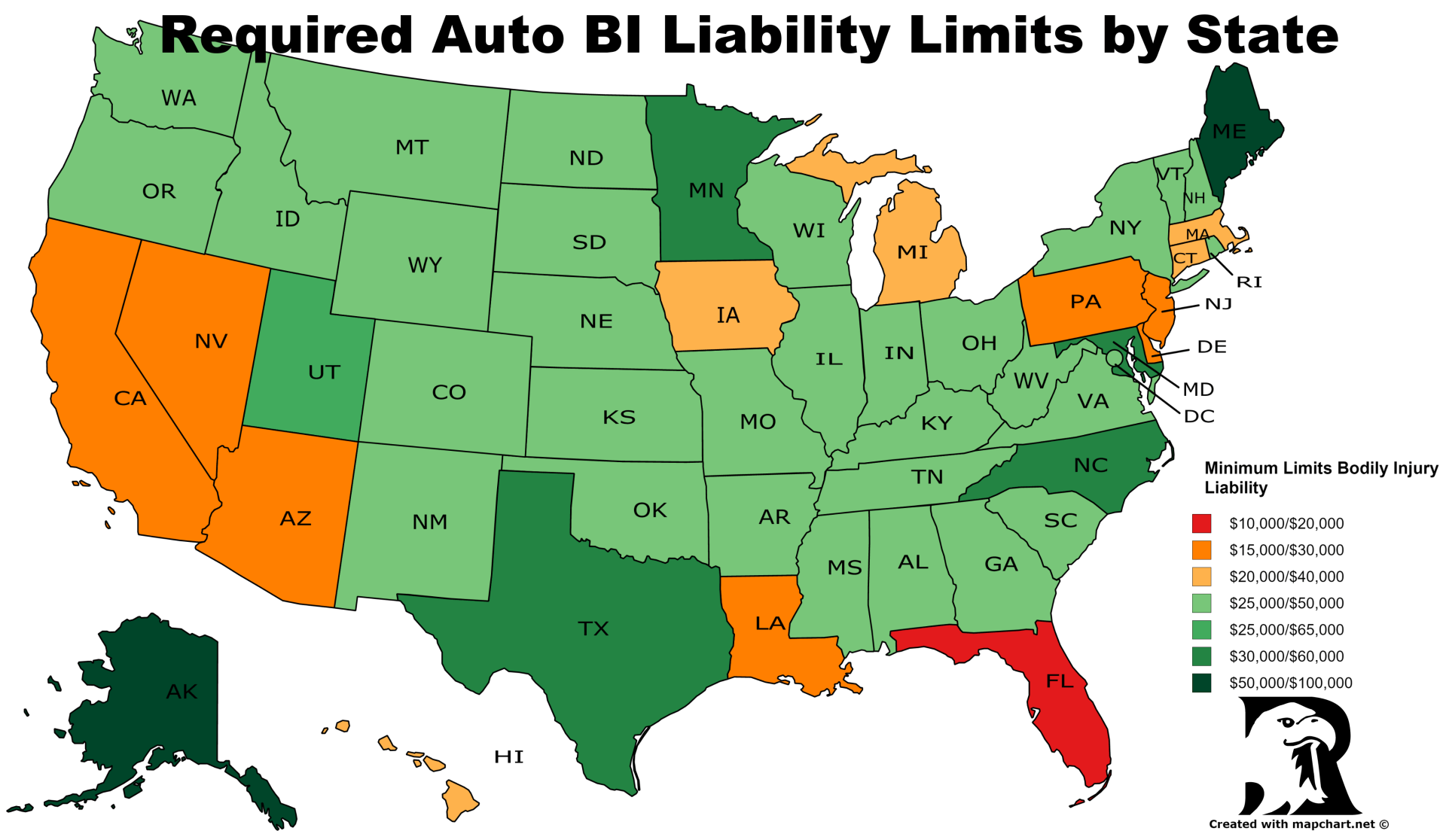 In New York State, How Much Liability Coverage on My Auto ...