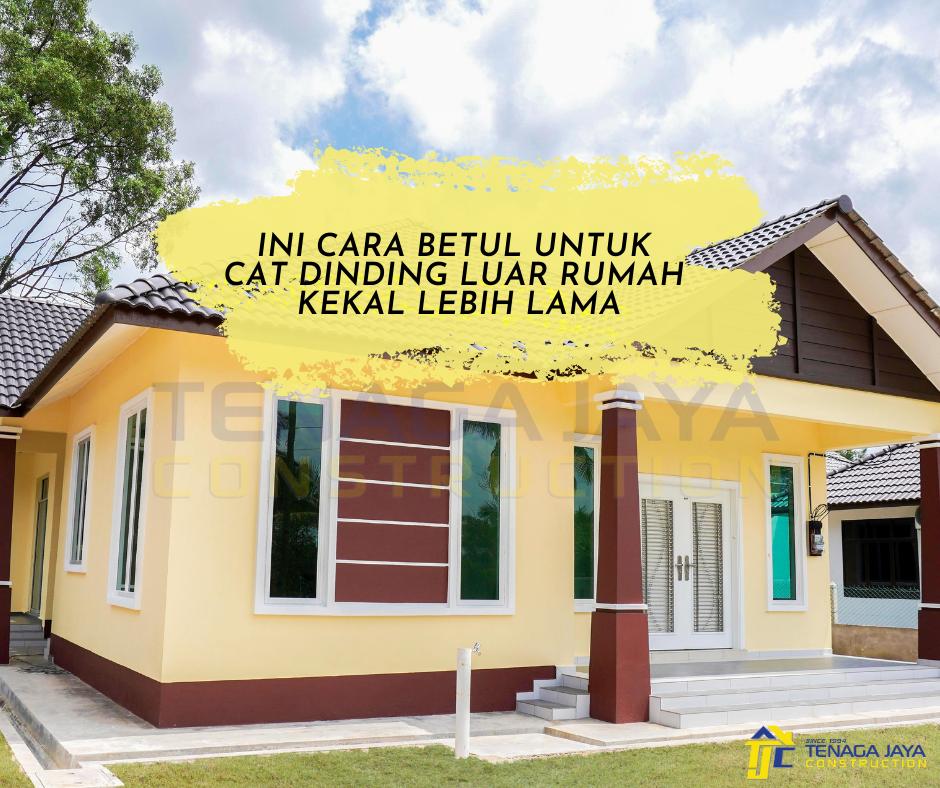 Cat Rumah Yang Tahan Lama : Cat Tembok SANLEX WONDER Untuk ...