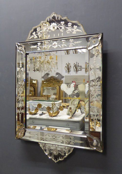 Antique Mirror From Jasper Jacks