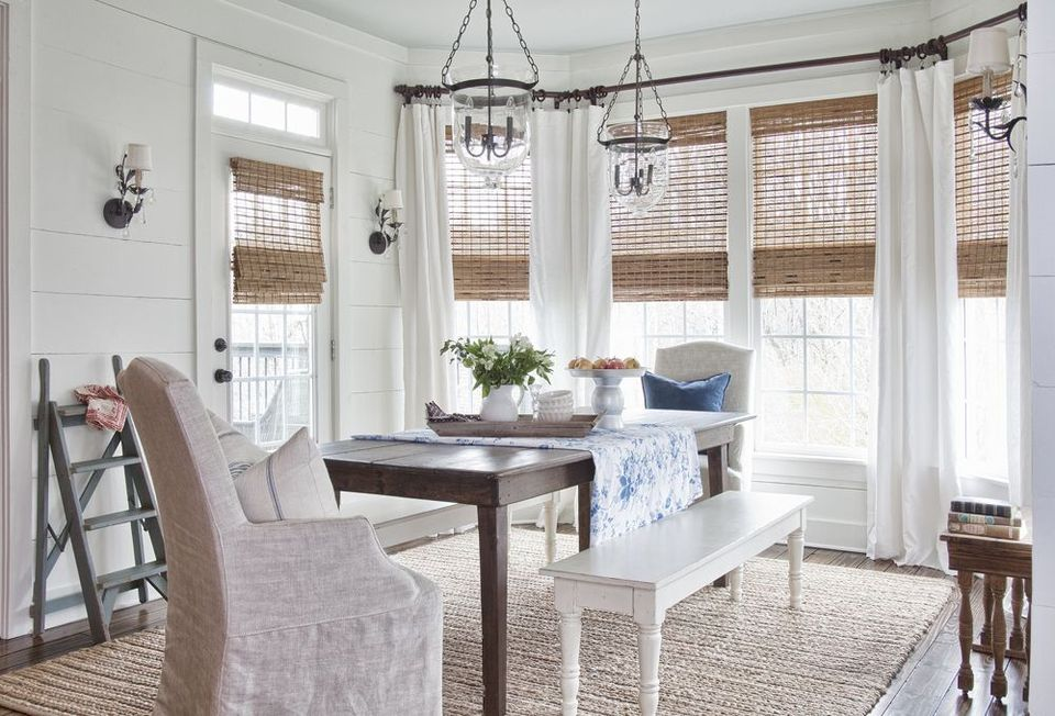 Window Treatment Ideas For Dining Rooms Blinds Couture