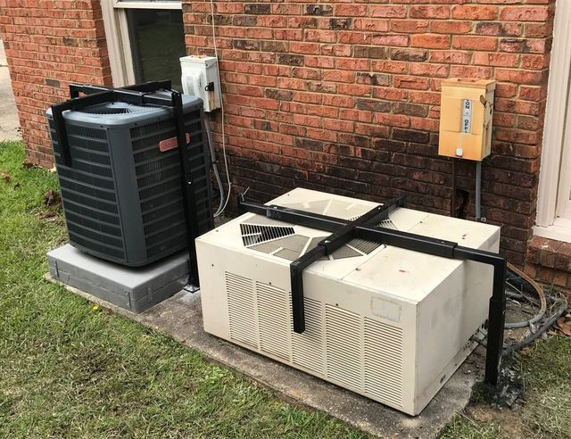 Air Conditioner Cages Keeping Assets Secure